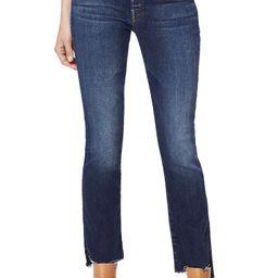 The Insider High Waist Crop Step Fray Jeans | Nordstrom