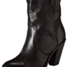 FRYE Women's Mustang Stitch Short Boot, Black, 7.5 M US | Amazon (US)