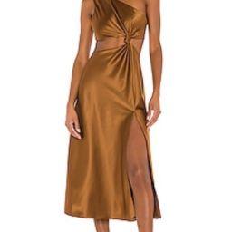 LPA Imani Dress in Brown from Revolve.com | Revolve Clothing (Global)