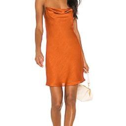 House of Harlow 1960 X REVOLVE Ira Mini Dress in Burnt Orange from Revolve.com | Revolve Clothing (Global)