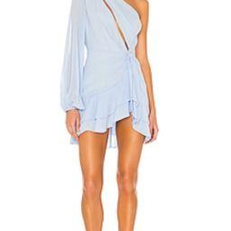 Michael Costello x REVOLVE Sunny Mini Dress in Blue from Revolve.com | Revolve Clothing (Global)