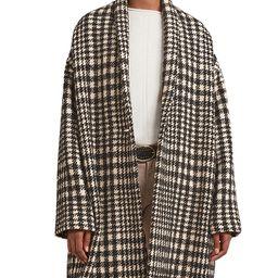 Sevana Oversized Houndstooth Print Wool Coat   Bloomingdale's (US)