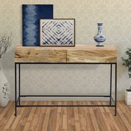 """Novello 43"""" Solid Wood Console Table   Wayfair North America"""