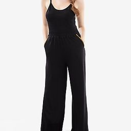 Honeydew Intimates Wide Leg Palazzo Lounge Jumpsuit Women's Black | Express