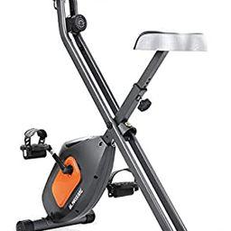 MaxKare Exercise Bike Stationary Folding Magnetic Exercise Bike Machine Magnetic with Adjustable ... | Amazon (US)