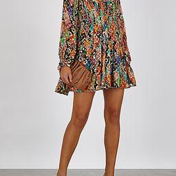 Dianna printed fil coupé mini dress | Harvey Nichols (Global)