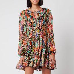 RIXO Women's Dianna Dress - Patchwork | Coggles (Global)
