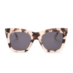 KAIA - CREAM TORTOISE + GREY   DIFF Eyewear