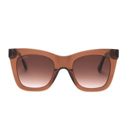 KAIA - DARK TAUPE + BROWN GRADIENT + POLARIZED | DIFF Eyewear