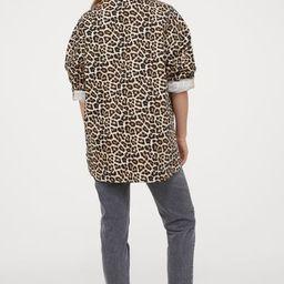 Cotton Twill Shacket | H&M (US)