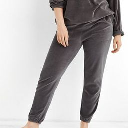 Aerie REAL Obessed Velour Jogger   American Eagle Outfitters (US & CA)