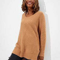AE Slouchy V-Neck Sweater | American Eagle Outfitters (US & CA)