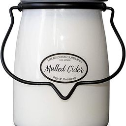 Milkhouse Candle Company, Creamery Scented Soy Candle: Butter Jar Candle, Mulled Cider, 22-Ounce | Amazon (US)