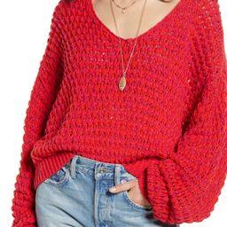 Free People | Coconut Knit V-Neck Sweater | Nordstrom Rack | Nordstrom Rack