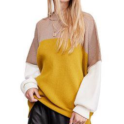 Easy Street Colorblock Sweater   Macys (US)