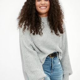 AE Dreamspun Mock Neck Sweater   American Eagle Outfitters (US & CA)