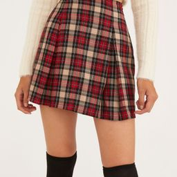 Urban Renewal Remnants Plaid '90s Mini Skirt | Urban Outfitters (US and RoW)