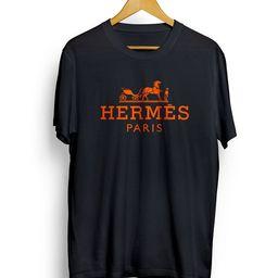 Multicolor Hermes Tee Fashion Designer Inspired Hermes Logo T | Etsy | Etsy (US)