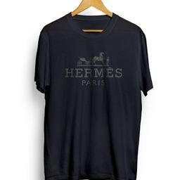 Multicolor Hermes Tee, Fashion Designer Inspired Hermes Logo T Shirt, Premium Unisex Tshirt for m... | Etsy (US)