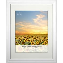 White Frame With Mat, Lifestyles™ By Studio Décor® | Michaels Stores