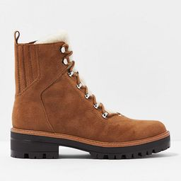 AE Sherpa Lug Boot Women's Light Brown 11   American Eagle Outfitters (US & CA)