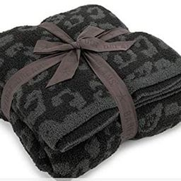 Barefoot Dreams CozyChic Barefoot in The Wild Throw Graphite/Carbon One Size   Amazon (US)