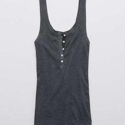 Aerie No BS Henley Tank Top   American Eagle Outfitters (US & CA)