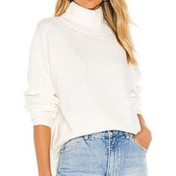 Free People Afterglow Mock Neck Sweater in Ivory from Revolve.com | Revolve Clothing (Global)