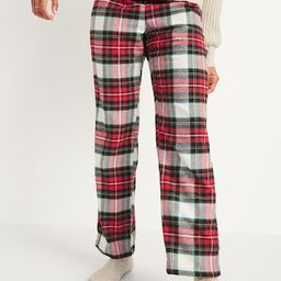 Patterned Flannel Pajama Pants for Women | Old Navy (US)