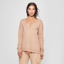 Women's V-Neck Pullover Sweater - Prologue™ | Target