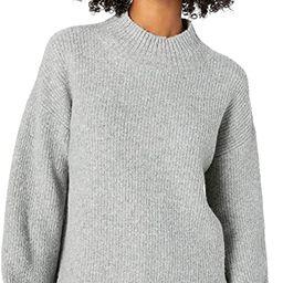 Amazon Brand - Goodthreads Women's Boucle Shaker Stitch Balloon-Sleeve Sweater | Amazon (US)