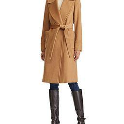 Lauren Ralph Lauren Wool-Blend Wrap Coat & Reviews - Coats - Women - Macy's | Macys (US)