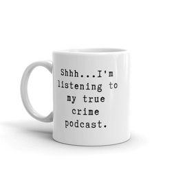 True Crime Mug True Crime True Crime Gift True Crime   Etsy   Etsy (US)