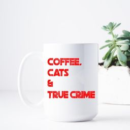 Coffee Cats True Crime MFM Buzzfeed Unsolved My Favorite   Etsy   Etsy (US)