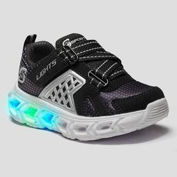 Toddler Boys' S Sport by Skechers Haydin Light-Up Sneakers - Black   Target