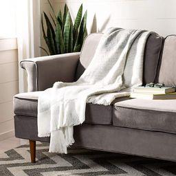 Safavieh Home Brena Multicolored 50 x 70-inch Blanket Throw, Multi Green | Amazon (US)