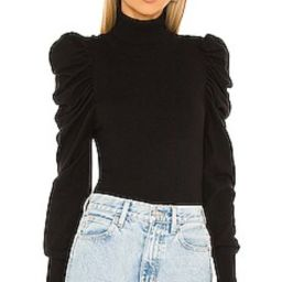L'Academie Larra Sweater in Black from Revolve.com | Revolve Clothing (Global)
