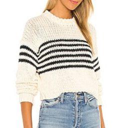 PISTOLA Nisha Sweater in Cream Black Stripe from Revolve.com | Revolve Clothing (Global)