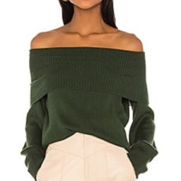 Song of Style Miso Sweater in Green from Revolve.com | Revolve Clothing (Global)