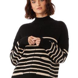 Free Assembly Women's Boxy Mock Neck Sweater   Walmart (US)