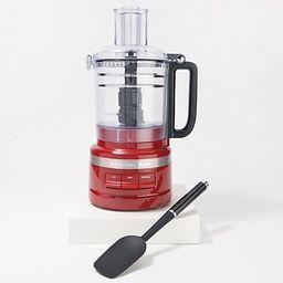 KitchenAid 9-Cup Food Processor Plus with Spatula & Blade Storage   QVC