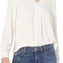 Amazon Brand - Lark & Ro Women's Long Sleeve V-Neck Pull Over Tunic Top | Amazon (US)