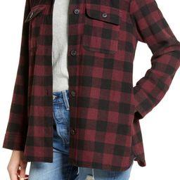 Plaid Flannel Shirt Jacket   Nordstrom