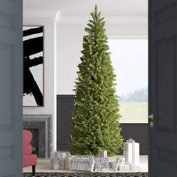 Kingswood Fir Green Fir Artificial Christmas Tree   Wayfair North America