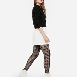 Houndstooth Full Tights   Express