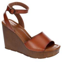 COGNAC LIMELIGHT Womens Corbin Wedge Sandal | Rack Room Shoes