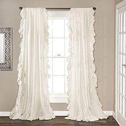 "Lush Decor Reyna Window Curtains Panel Set for Living Room, Dining Room, Bedroom (Pair), 95"" x ... | Amazon (US)"