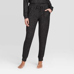 Women's Perfectly Cozy Lounge Jogger Pants - Stars Above Dark Gray S | Target