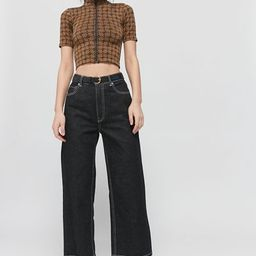 iets frans… Geo Print Zip-Front Top | Urban Outfitters (US and RoW)
