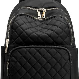 Backpack for Women, Nylon Travel Backpack Purse Black Small School Bag for Girls   Amazon (US)